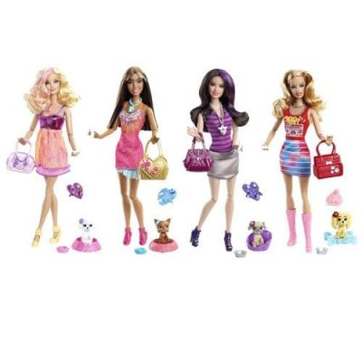 Barbie Fashionistas animale de companie 1