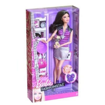 Barbie Fashionistas animale de companie 3