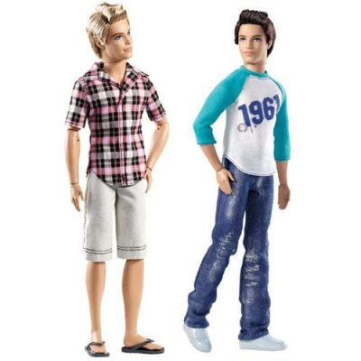 Barbie Fashionistas papusa Ken 3