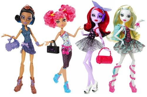 Mattel Papusa Monster High Petrecarete Basic