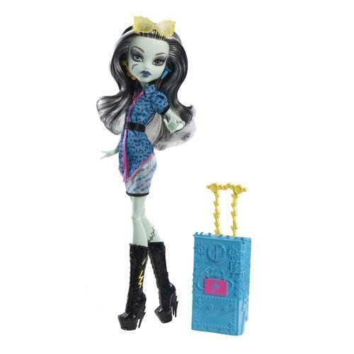 Monster High papusi plimbarete Frankie Stein 1