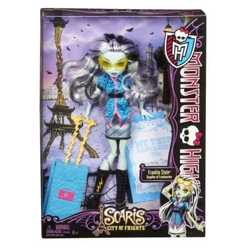 Monster High papusi plimbarete Frankie Stein 4