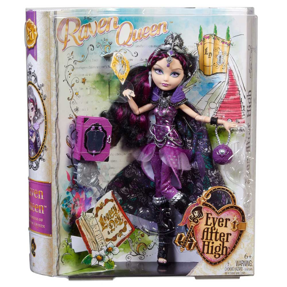 Papusa Ever After High Legacy Day Raven Queen