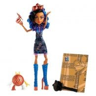 Papusa Monster High Robecca Steam Art Class
